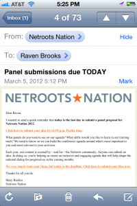 NN email unoptimized