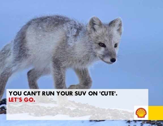 arcticready.com ad you can't run your SUV on cute