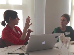 New Media Mentors - Melissa Foley and Carolyn Laub